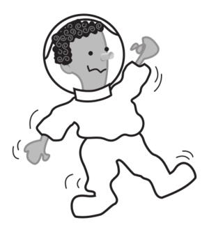 clip art clipart svg openclipart black flying white grayscale cartoon science usa space astronomy nasa station astronaut astronauts outer 剪贴画 卡通 黑色 白色 去色 飞行 美国