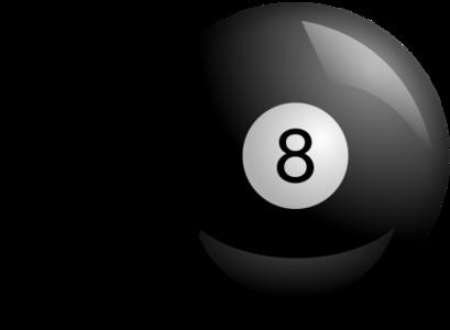 clip art clipart svg openclipart black play ball 运动 billiards pool table 8ball 剪贴画 黑色 球