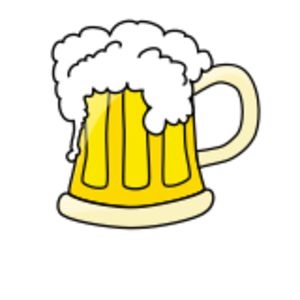 clip art clipart svg openclipart beverage mug drink yellow white alcohol beer party foam celebration pint pub 剪贴画 白色 黄色 庆祝 饮料 饮品 派对 宴会