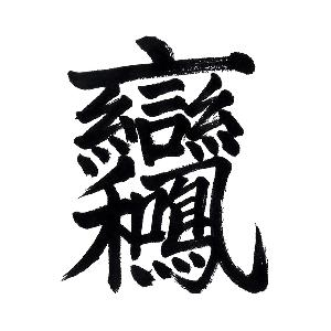 ChineseCalligraphy 合体字