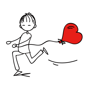 爱情,彩色,红心 1562