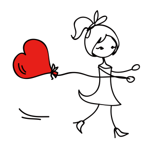 爱情 彩色 红心