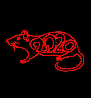 2020,鼠年,新年快乐 2342