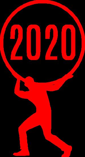 2020,鼠年,新年快乐 2340