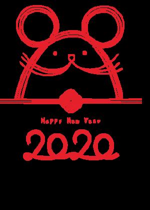 2020,鼠年,新年快乐 2495
