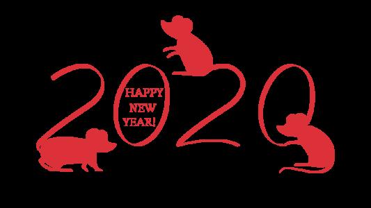 2020,鼠年,新年快乐 2759
