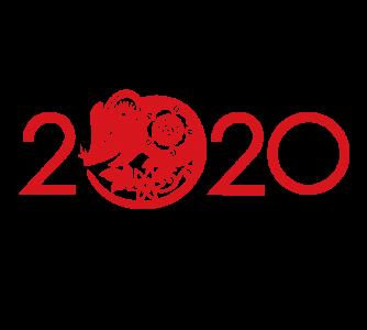 2020,鼠年,新年快乐 2850