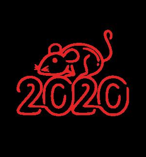 2020,鼠年,新年快乐 2938